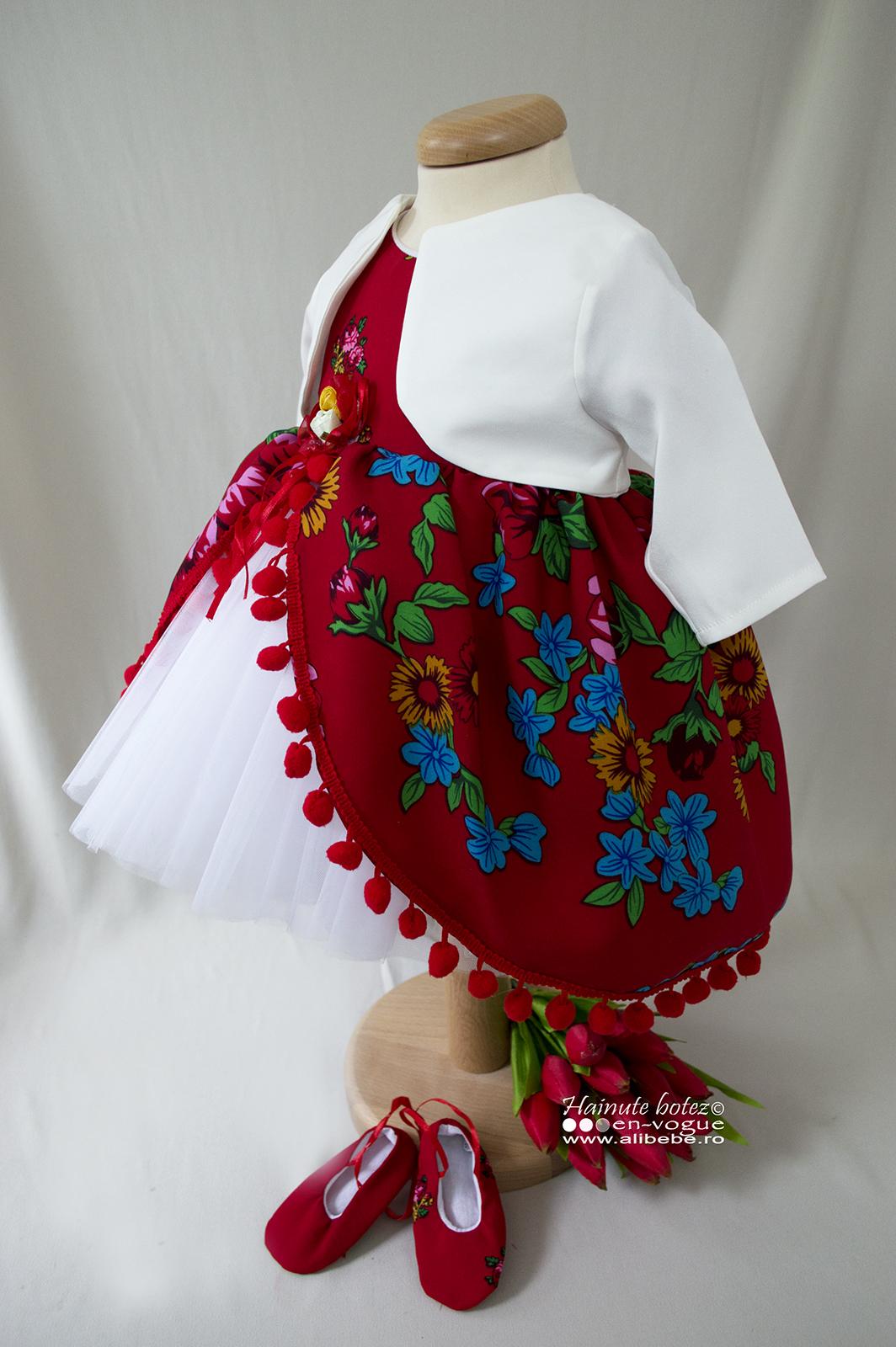 Rochita Botez Red Romanitza Set 5 Piese Alibebero