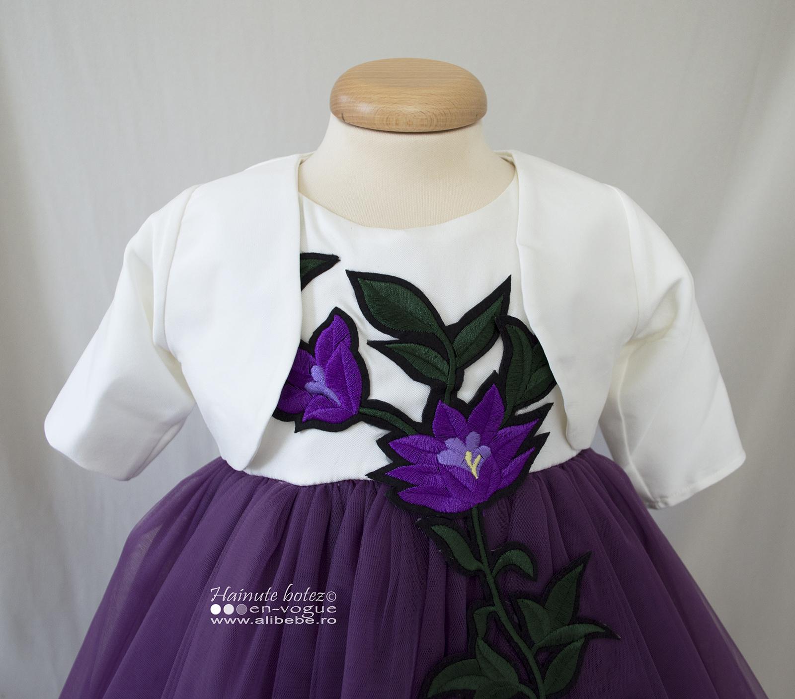 Rochita Botez La Belle Violette Set 4 Piese Alibebero